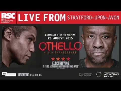 Divadlo v kině | Othello 26.8.2015 | RSC Live