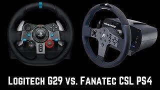 Logitech G29 vs. Fanatec CSL Elite PS4 - Was bekommt ihr für euer Geld?
