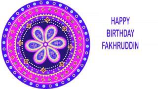 Fakhruddin   Indian Designs - Happy Birthday