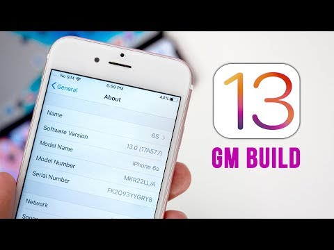 iOS 13 GM Released – How to Install!