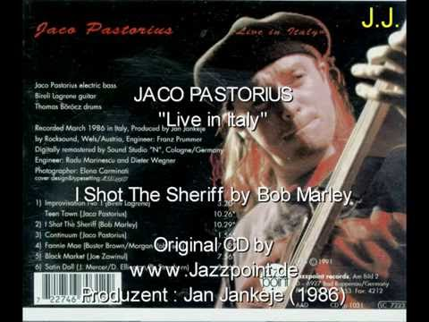 Jaco Pastorius ‎– Live In Italy (I Shot The Sheriff) & Birel