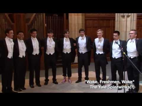The Yale Spizzwinks(?) 2015 Family Weekend Concert