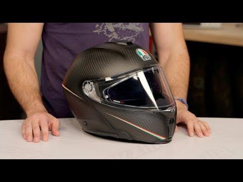 AGV Sportmodular Carbon Helmet Review at RevZilla.com