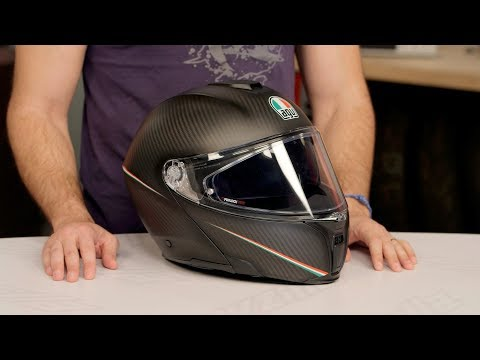 Thumbnail for AGV Sportmodular Carbon Helmet Review