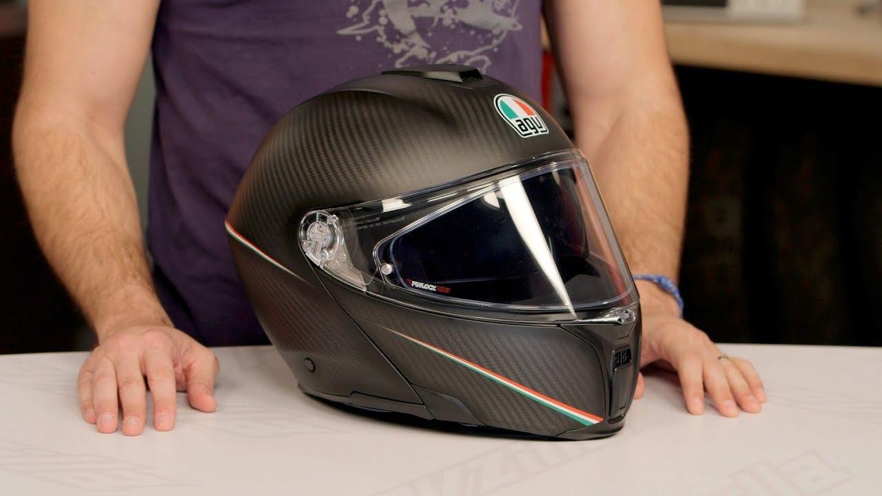 Agv Sportmodular Carbon Helmet Review At Revzilla Com Youtube