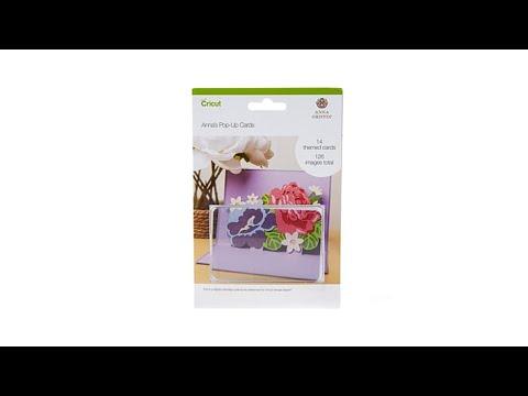 Anna Griffin Popup Cards Digital Cricut Cartridge