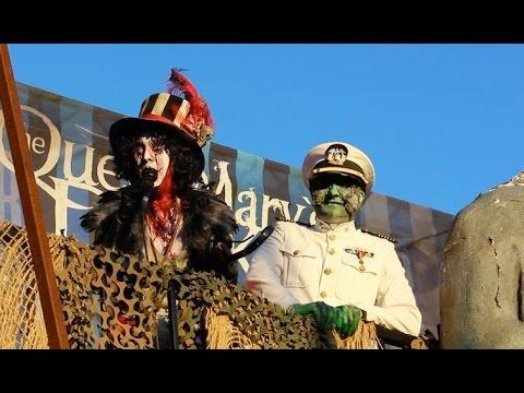 Queen Mary Dark Harbor 2015 opening ceremony