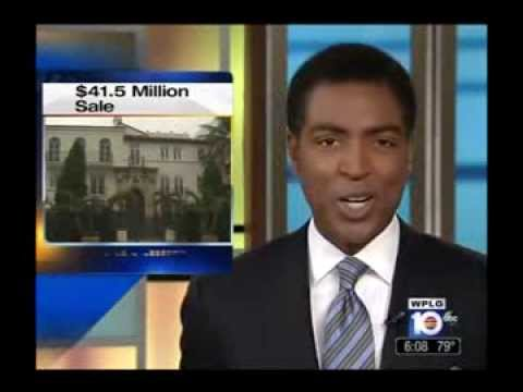 WPLG 9 17 13 Versace Mansion Auction Sale - Ruben Socarras Featured
