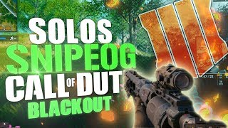 The BEST play in blackout yet? SniperOG Returns - Call Of Duty: Black ops 4 (Blackout BR)
