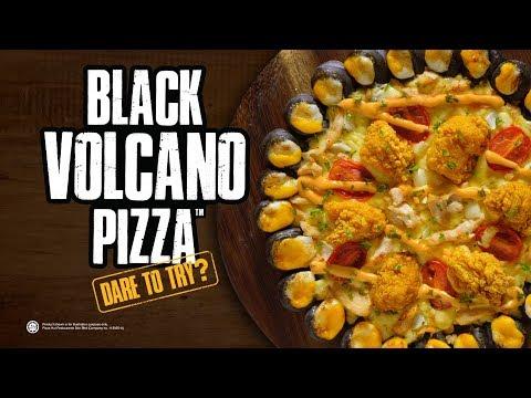 Pizza Hut Malaysia - Black Volcano Pizza