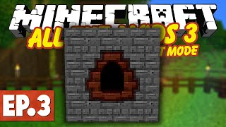 Minecraft All The Mods 3 Expert | ORE DOUBLING, COKE OVEN & CHARCOAL! #3 [Modded Minecraft]