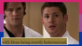 "Dean being ""overtly heterosexual"" for 17 minutes bi"