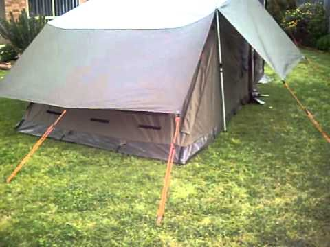 Oztent RV5 with Fly and Deluxe side panels