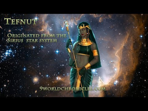 Tefnut Kemetic Goddess of Water adapted to Egyptian Mytholog