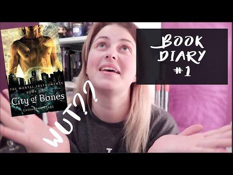 Book Diary #1 CITY OF BONES by Cassandra Clare | Book Roast