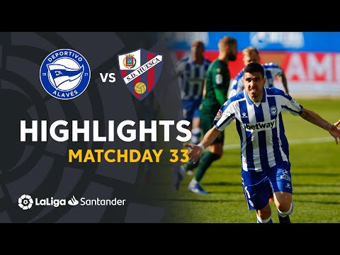 Alaves Huesca Goals And Highlights