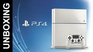 Sony PlayStation 4 (White) Unboxing