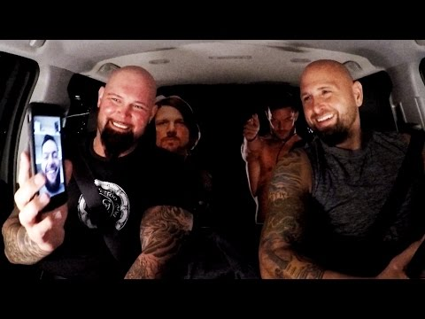 The Club jokes with Finn Balor on WWE Ride Along (WWE Network Exclusive)