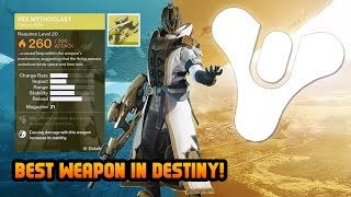 Destiny BEST WEAPON Gameplay! Level 29 Warlock Destiny Vex Mythoclast Gameplay! (Destiny Gameplay)