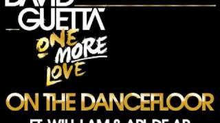david guetta on the dancefloor ft kid cudi apl de ap