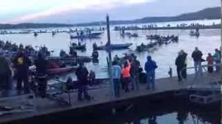 Repeat youtube video 2014 Bassmaster Classic Take Off
