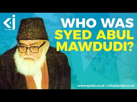 Who was Mawlana Sayyid Abu Al-`ala Mawdudi?