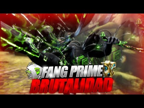 Warframe - Build Fang prime 1-2 formas | ¿Mala arma? para nada | Warframe español