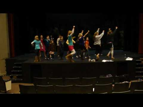 What Time Is It from HSM2 Jr At Harrell Theatre Video 1