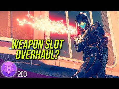 Destiny 2 - Exotic Armor Changes, Anthem At E3, & Weapon Slot Revamp | #203 Destiny The Show