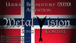 Attention - Ulrikke Brandstorp - Metal Cover (Eurovision 2020 Norway)
