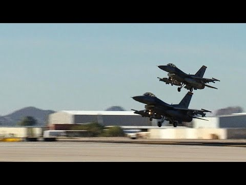Iraqis train with U.S. Air Force to fly F-16 jets