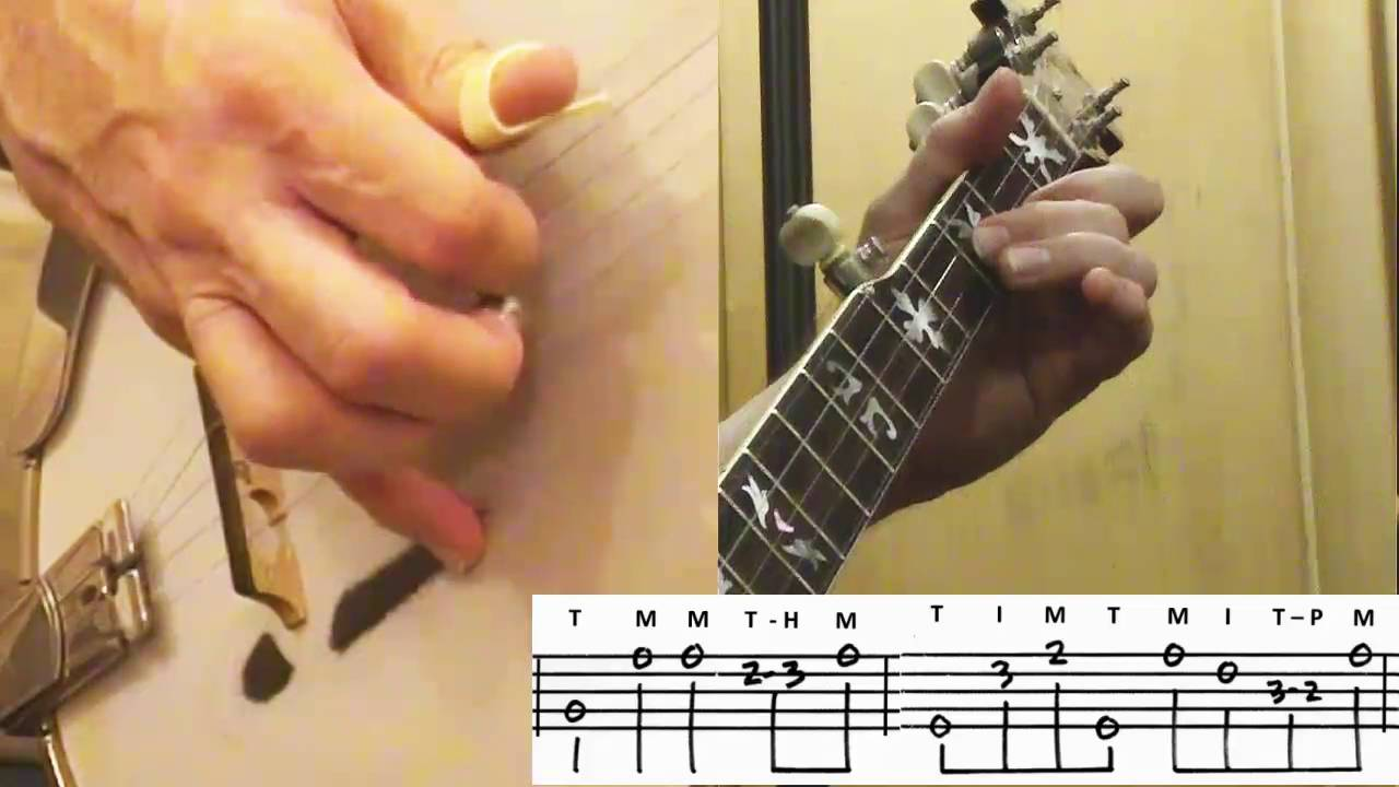 Dueling Banjos How I Play It On 5 String Bluegrass Banjo Youtube