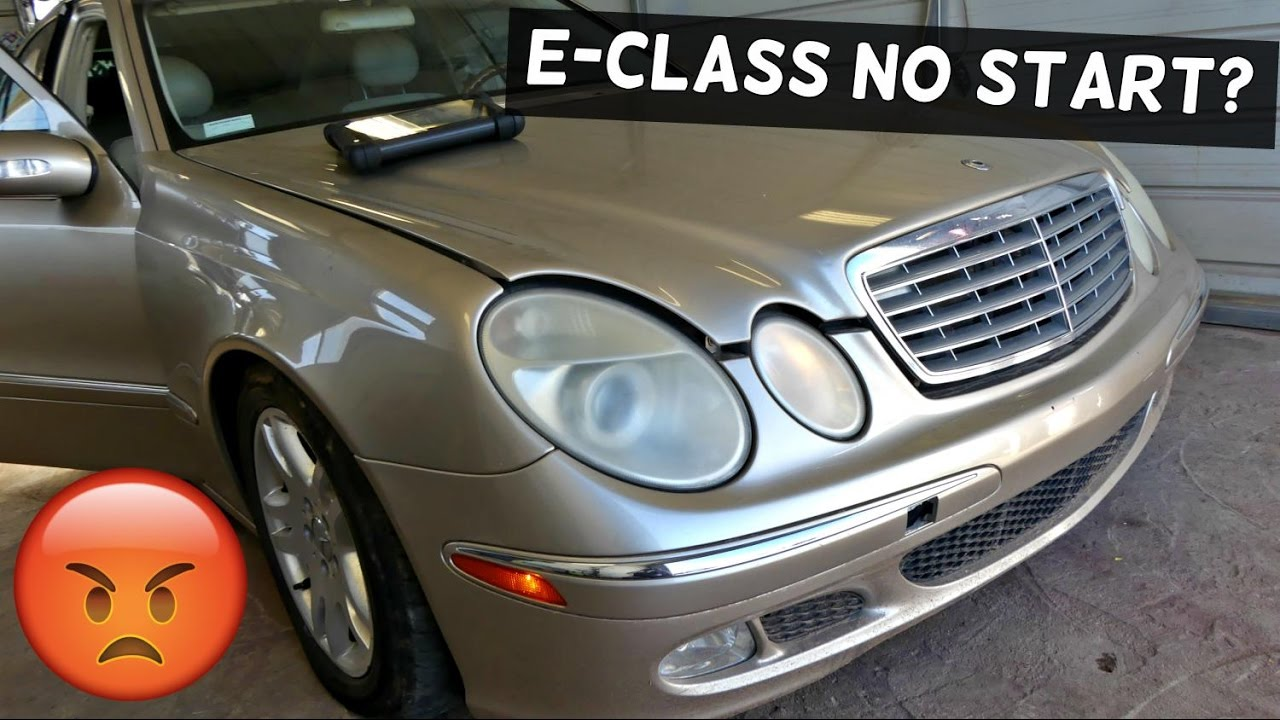 MERCEDES W211 NO START FUEL PROBLEMS E200 E230 E240 E280 E320 E350 E500  E550 E55 E63