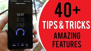 Redmi K20 PRO Tips and Tricks 🔥 AMAZING Hidden Features✅ | Hindi