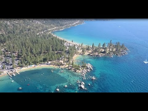 Sand Harbor Beach, Lake Tahoe, NV '17 by DJI Mavic Pro