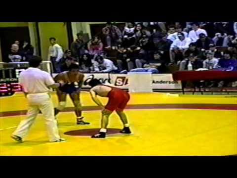 1994 Senior National Championships: 52 kg Final Greg Woodcroft vs.  Selwyn Tam