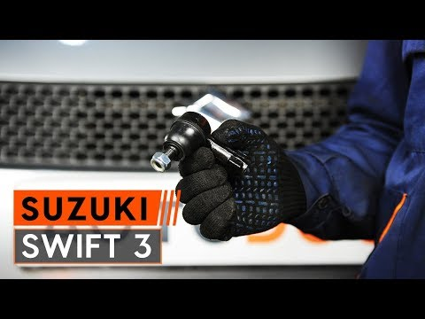 How to replace track rod end on SUZUKI SWIFT 3 [TUTORIAL AUTODOC]