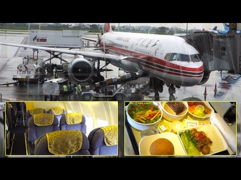 Shanghai Airlines Boeing 757-200 Business Class Bangkok - Shanghai [AirClips full flight series]