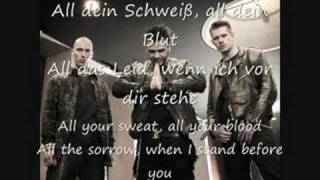 Oomph!-Gekreuzigt (lyrics with English translation)