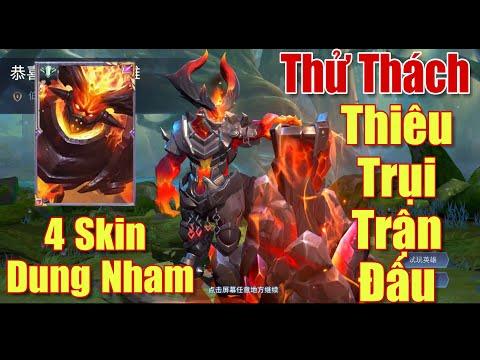[Gcaothu] Trang phục Dung Nham thứ 4 ra mắt Liên Quân - Baldum thiêu trụi cả trận đấu