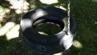How To Make A Great Tire Swing. A Better Look