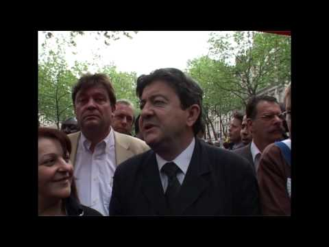 Paris (France) 13-05-2006 ITW Jean Luc Mélenchon on CESEDA law