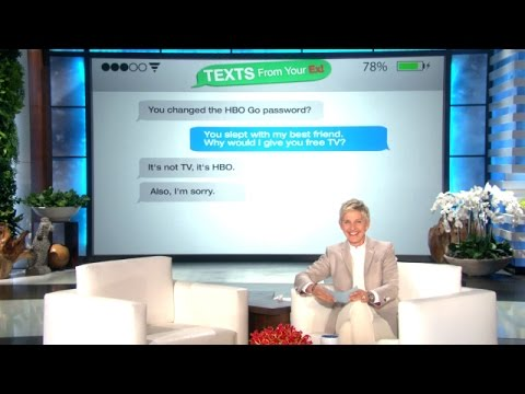 Texts from Your Ex -- It's Not TV