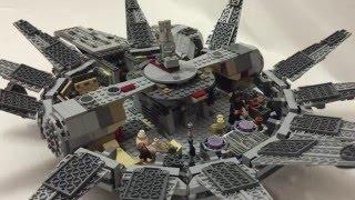 LEGO Star Wars 75105 Сокол Тысячелетия. 3 часть