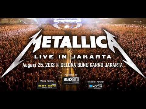 Metallica Live Jakarta Indonesia 2013