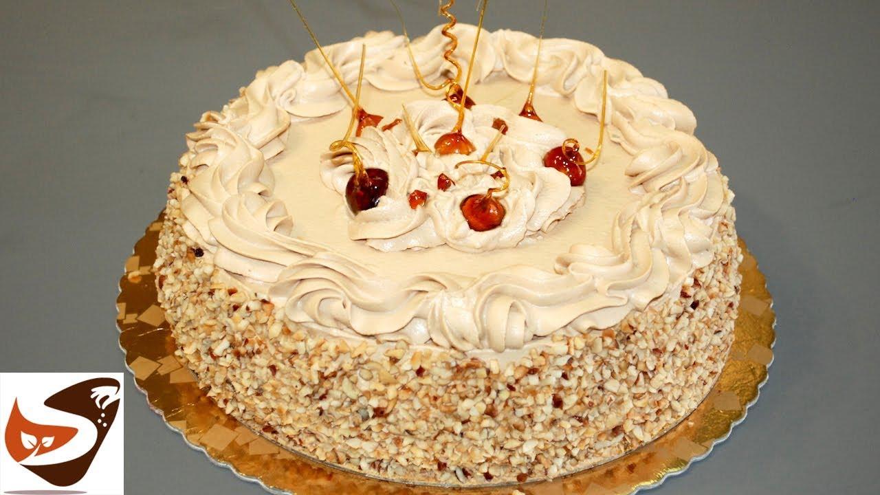 Torta chantilly alla nocciola facile e buonissima torta - Decorazioni torte con glassa ...