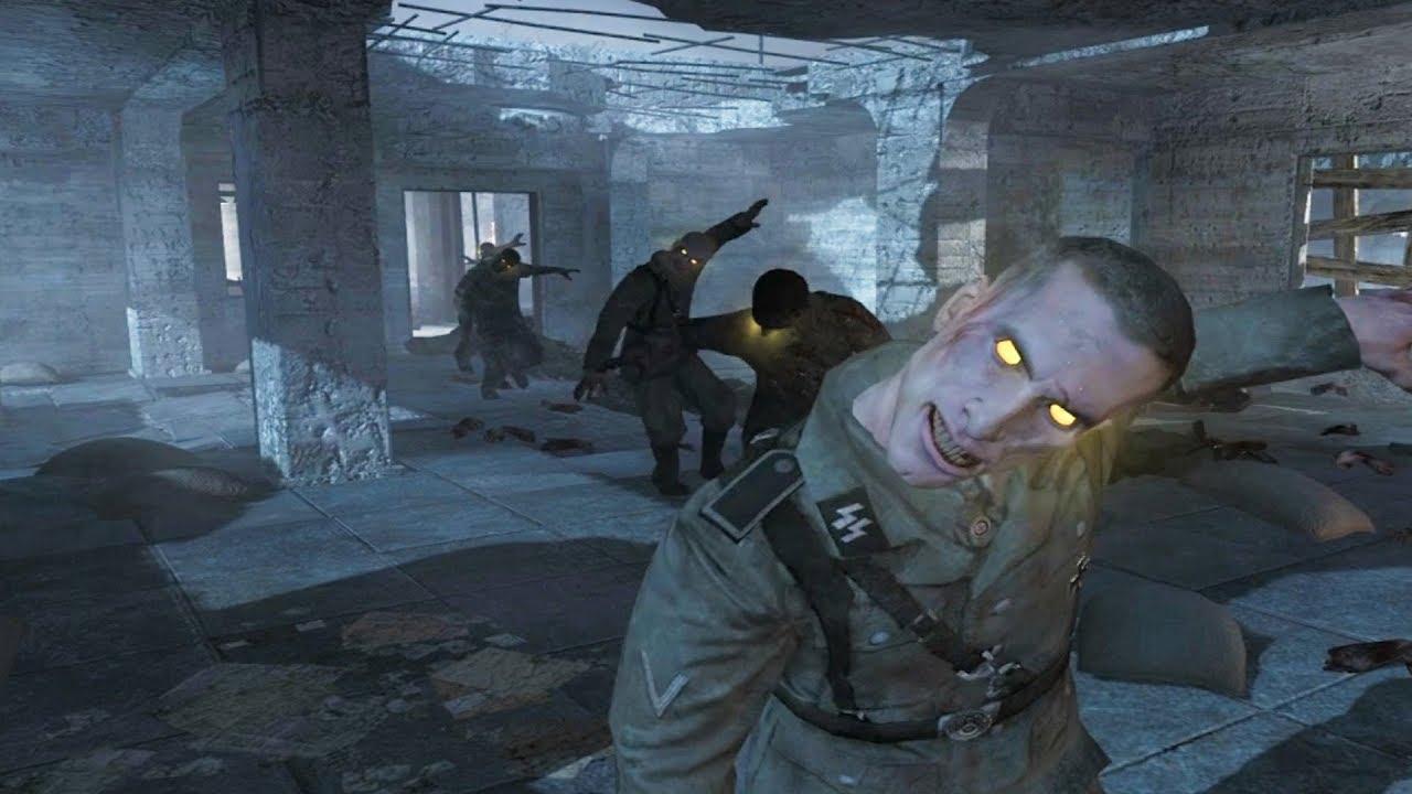 Call Of Duty World At War Zombies Nacht Der Untoten Youtube