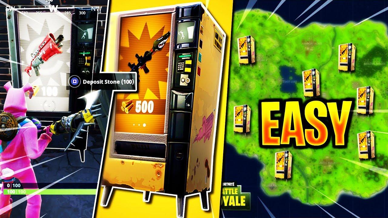 how to make a vending machine easy