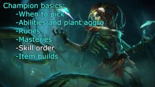 UPDATED ZYRA support video guide (patch 6.10, in-depth, by Melyn)