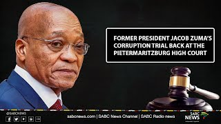 Former President Jacob Zuma, Thales corruption trial